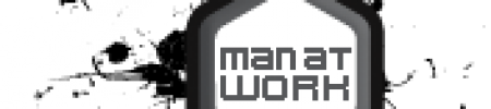 man at work – design agency