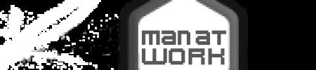 man at work – design agency